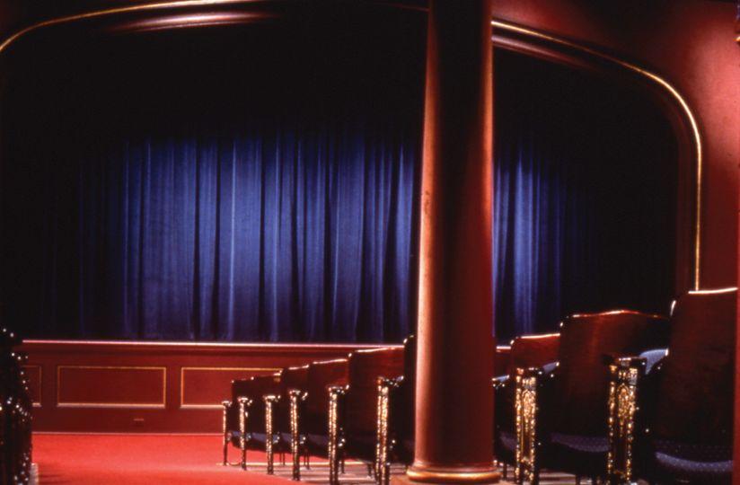 Interior of Crest Theatre