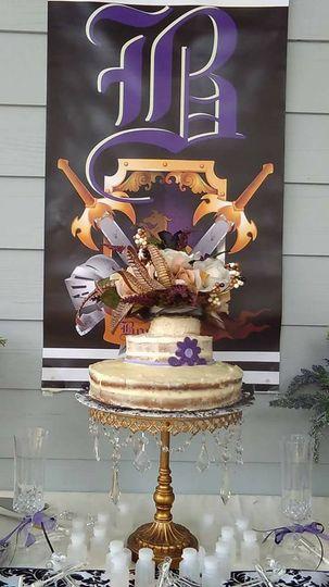 Simple pirate cake