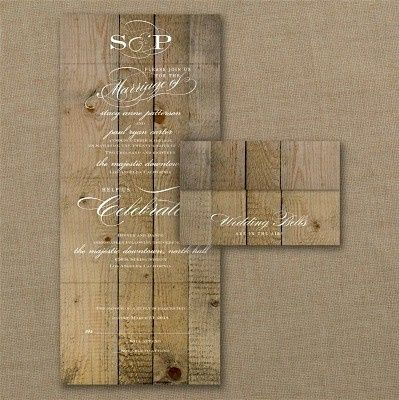 Tmx 1467818554540 Vintage Woodgrain Love Seal Send Wedding Invitatio Dubuque wedding invitation