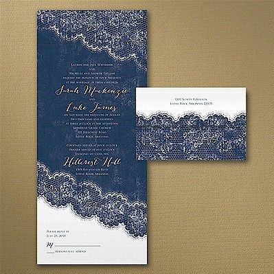 Tmx 1467818567809 Love The Lace Seal N Send Wedding Invitation Dubuque wedding invitation