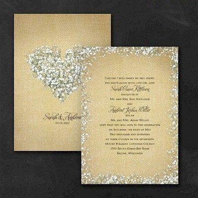 Tmx 1467818583973 Burlap Blossoms Wedding Invitation Dubuque wedding invitation