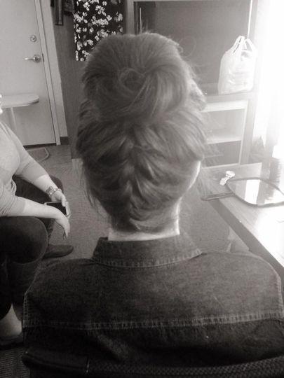 Up braids