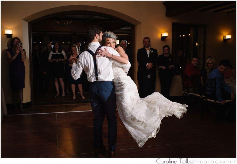 willowdale estate wedding first dance