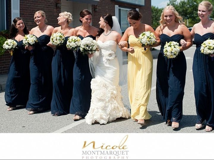 Tmx 1453927586513 Pier 49 Bride And Bridesmaids Wedding 09 2013 Newport, RI wedding venue