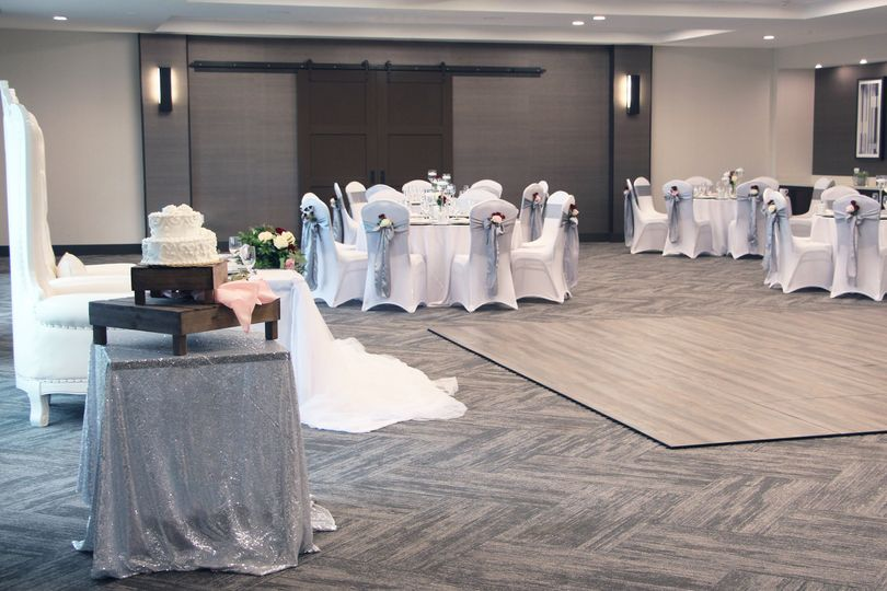 Ballroom Bride and Groom Chair
