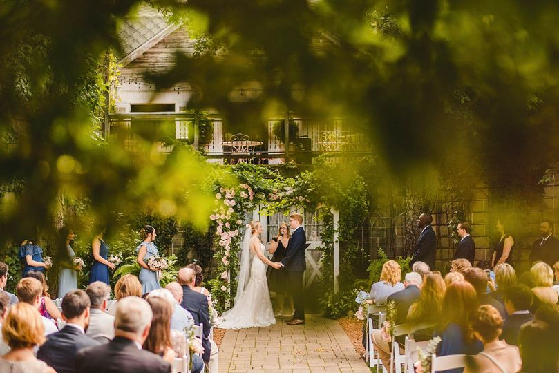 Blue Dress Barn wedding