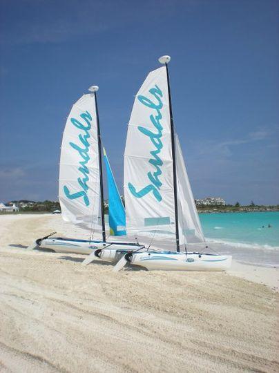 The beautiful beaches of the Exumas