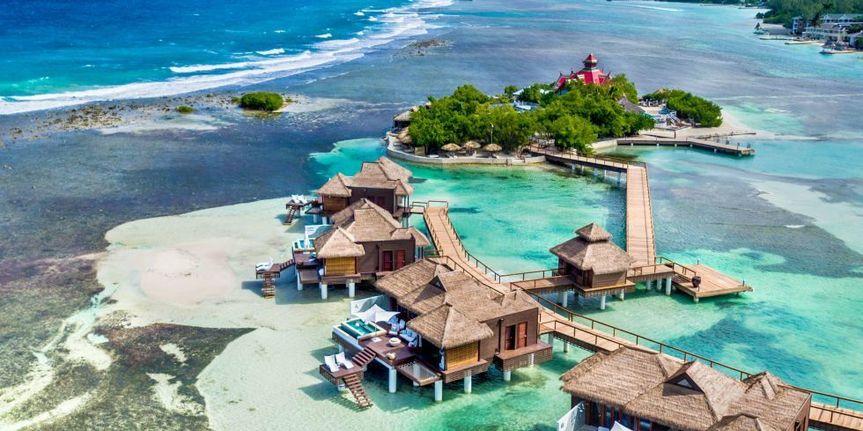 Over Water Villas in Jamaica