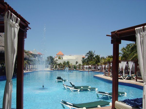 The El Dorado Royale, Riviera Maya Mexico...Main Pool
