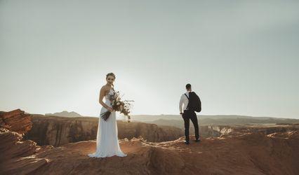 The wedding of Jill and Robert