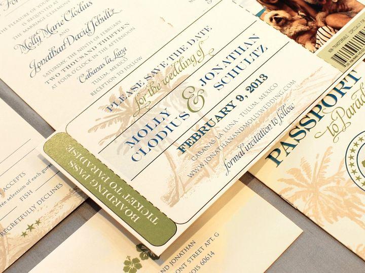 Tmx 1352840433674 Clodius Coralville wedding invitation