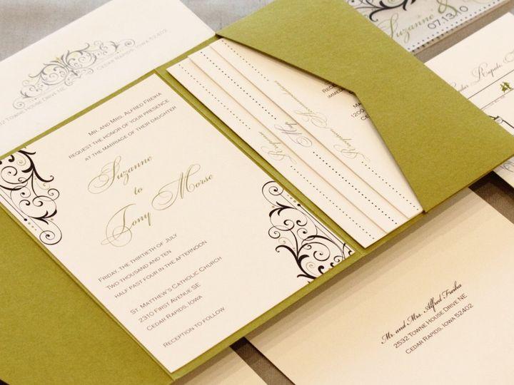 Tmx 1352840498693 Freiha Coralville wedding invitation