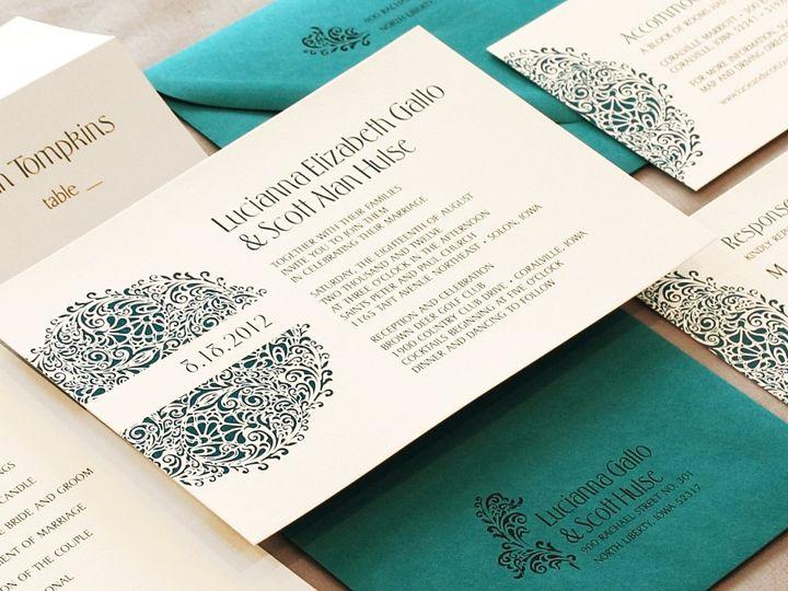 Tmx 1352840560670 Gallo Coralville wedding invitation