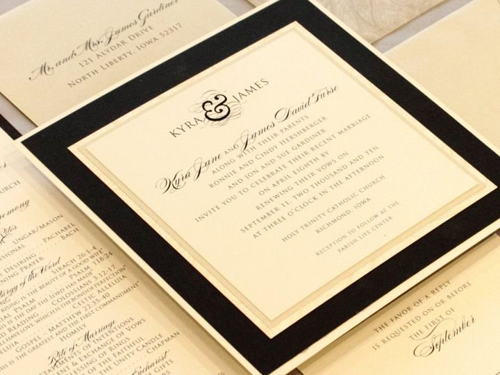 Tmx 1352840586645 Gardner Coralville wedding invitation