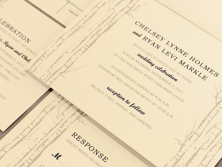 Tmx 1352840692069 Holmes Coralville wedding invitation