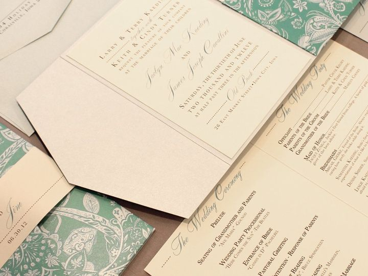 Tmx 1352840720557 Kaeding Coralville wedding invitation
