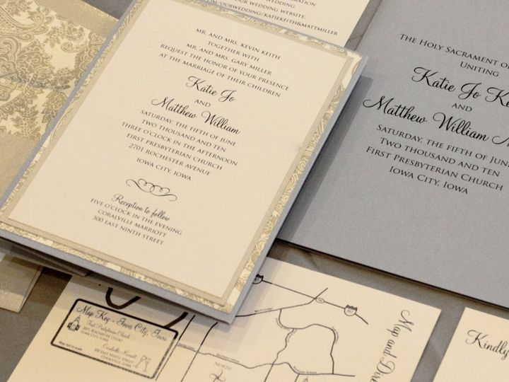 Tmx 1352840758643 Keith Coralville wedding invitation