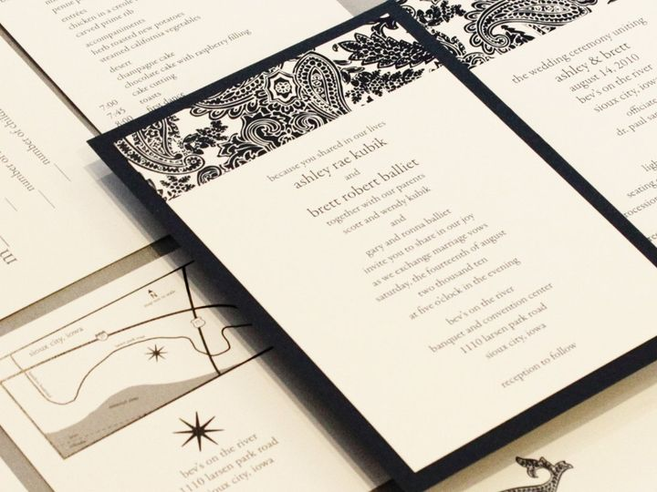 Tmx 1352840841365 Kubik Coralville wedding invitation