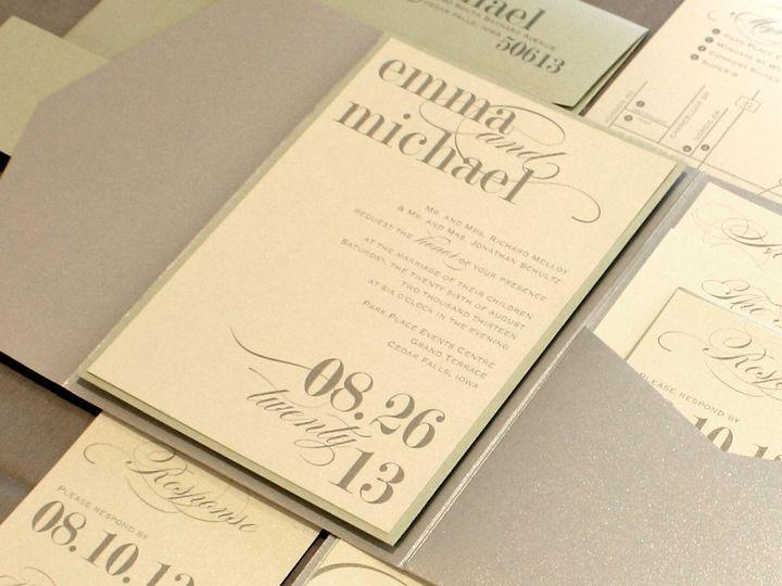 Tmx 1352840950980 Melloy Coralville wedding invitation