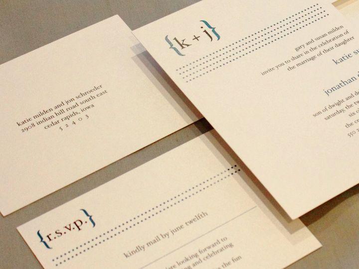 Tmx 1352840990629 Milden Coralville wedding invitation