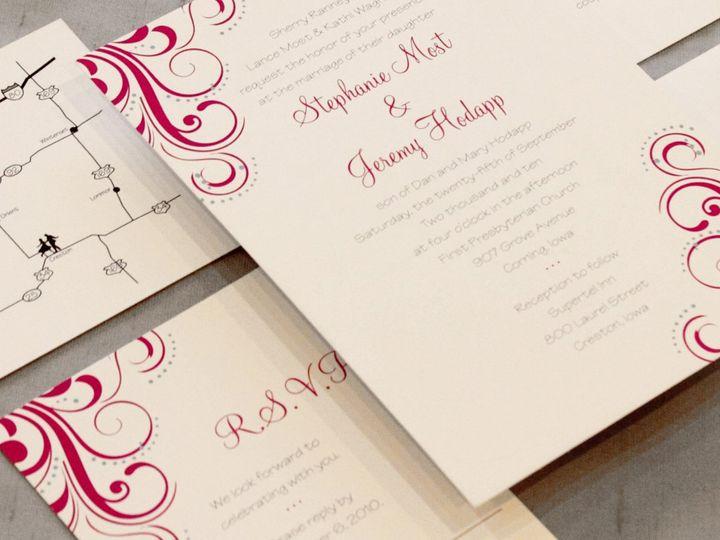 Tmx 1352841022630 Most Coralville wedding invitation