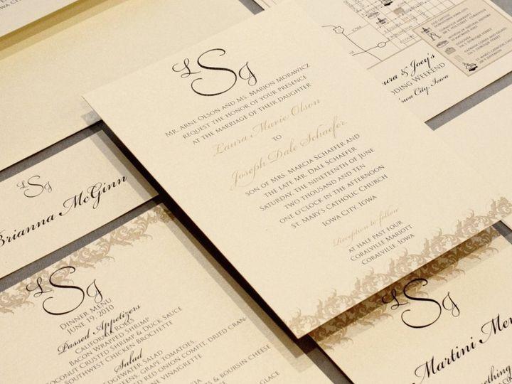 Tmx 1352841134188 Olson2 Coralville wedding invitation