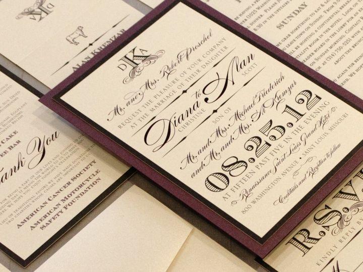 Tmx 1352841226552 Preschel Coralville wedding invitation