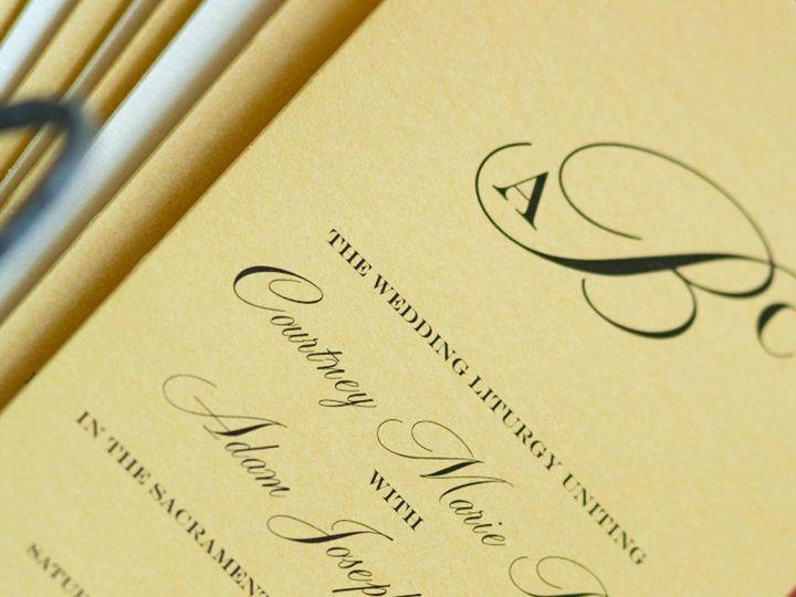 Tmx 1352841268080 Program2 Coralville wedding invitation
