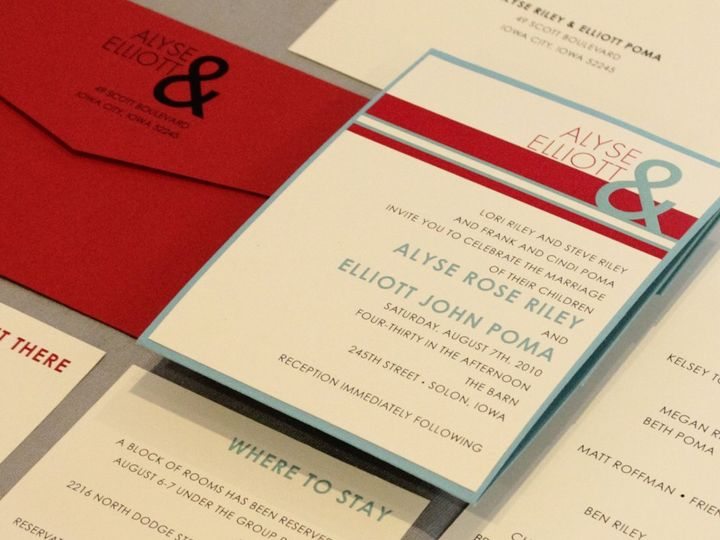 Tmx 1352841299558 Riley Coralville wedding invitation