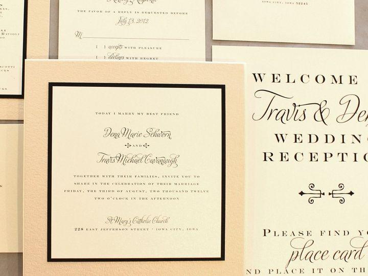 Tmx 1352841427174 Schworn Coralville wedding invitation