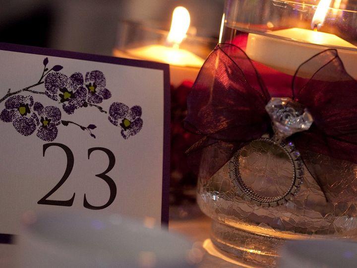 Tmx 1352841572312 TableNumber2 Coralville wedding invitation