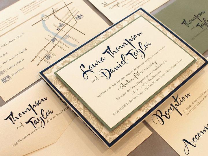 Tmx 1352841624393 Thompson Coralville wedding invitation