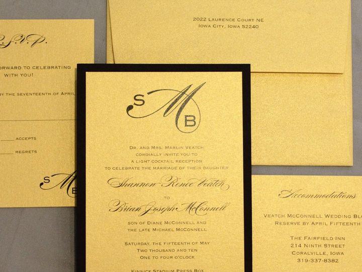 Tmx 1352841671625 Veatch Coralville wedding invitation