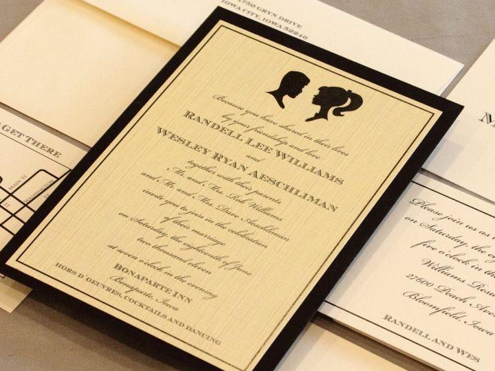 Tmx 1352841767145 Williams Coralville wedding invitation