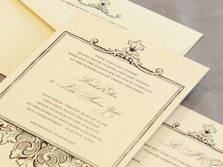 Tmx 1352841794886 Yoder Coralville wedding invitation