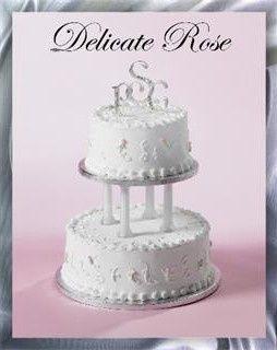 Tmx 1415119772496 Delicate Rose 311x320 Edison, NJ wedding cake