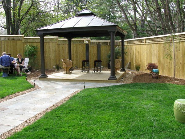12' x 12' gazebo is perfect for wedding ceremony or bandstand.