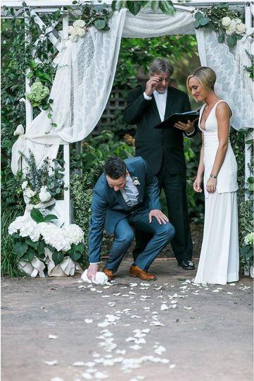 Wedding ceremony | Photos by Anthony Corbin