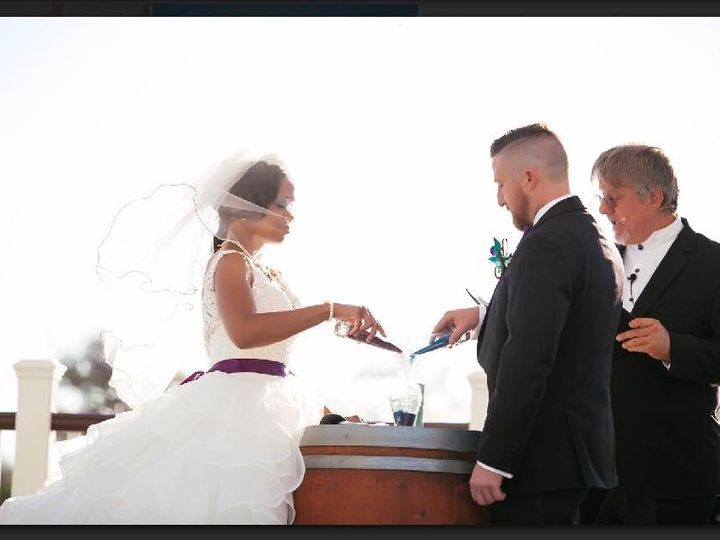 Tmx Wedding 07 2016 Le Grande Sand Ceremony 51 904304 157868043793027 Brentwood, CA wedding officiant