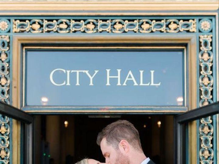 Tmx Wedding 09 2019 San Francisco City Hall Kiss 51 904304 157867964940570 Brentwood, CA wedding officiant