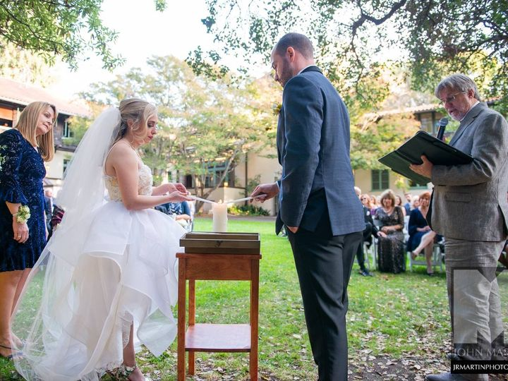 Tmx Wedding 11 2018 Faculty Club Unity Candle 51 904304 157868051173560 Brentwood, CA wedding officiant