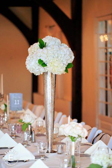 Tall table decor