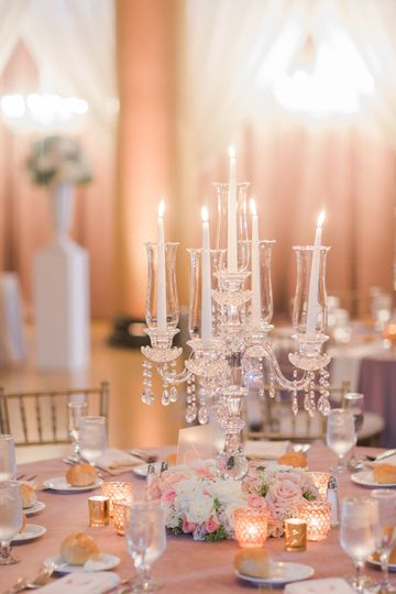 Our fabulous candelabras