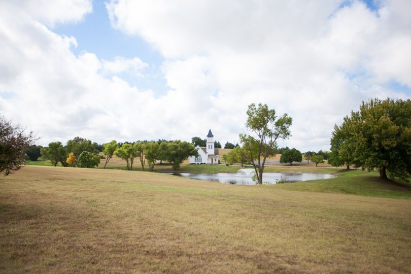 Venue grounds and pond