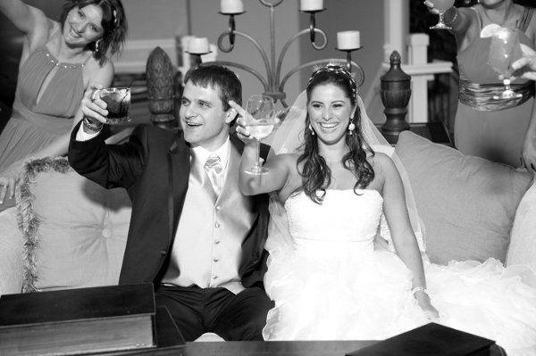 Another happy bride & groom!
