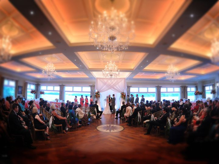 Tmx 1441916861899 11 Ballroom Wedding Ceremony 1 Point Pleasant Beach wedding venue