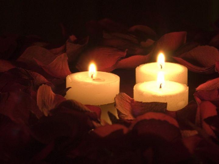 Candle set-up
