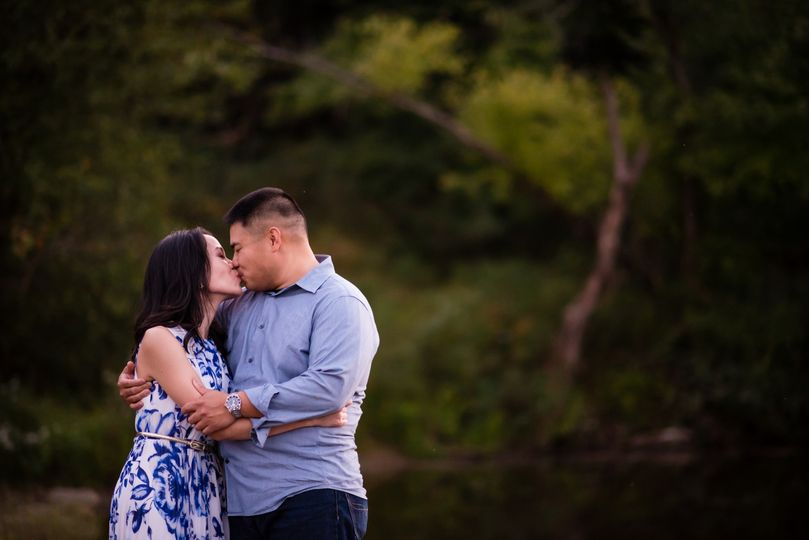 Engagement picture for CD