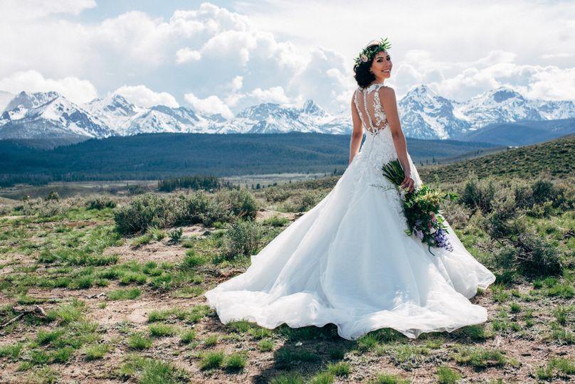 Stanley, Idaho wedding