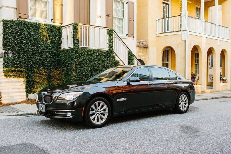 2017 BMW 750 Luxury sedan